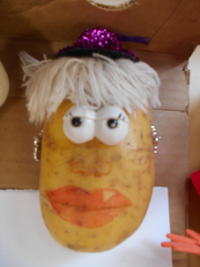 World Book Day Decorate A Potato As A Book Character Thornton